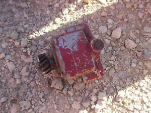Farmall 140 Ih Ihc Tractor Good Live Hydraulic Pump Good Drive Gear 360688r92