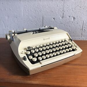 Vintage 1970s Sears Portable Typewriter With Case