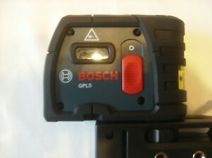 Bosch 5 point 100 Ft Self leveling Alignment Laser Gpl5 Gpl 5 Plumb Square New