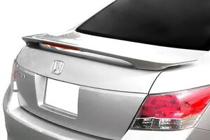 Painted 2008 2009 2010 2011 2012 Honda Accord 4dr Spoiler Factory Style