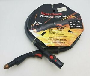 Hypertherm Powermax 65 Straight Hand Torch 25 Duramax H65s 15 Degree 083251 Nos