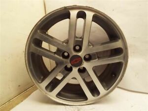 Wheel 16x6 Aluminum 10 Spoke Brushed Opt Pfd Fits 02 05 Cavalier 215751