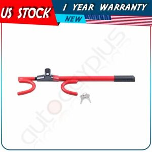1pcs Steering Wheel Lock Anti Theft Security System Car Truck Suv Auto Club