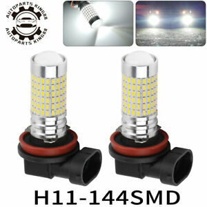 2 For Honda Accord Civic 2008 2009 2010 Fog Driving Light 6000k White Led Bulbs