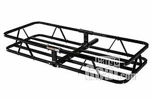 Universal Hitch Mount Cargo Rack 48 X 20 1 1 4 Or 2 Inch Receiver Black