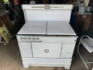 Vintage Stove Coal Wood Gas Prizer Painter Made In Reading Pa Local Pickup