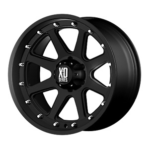 Four 4 17x9 Xd Series Addict Et 18 Black 6x114 3 6x4 5 Wheels Rims