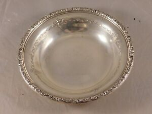 Vintage Towle Sterling Silver Bowl 48512