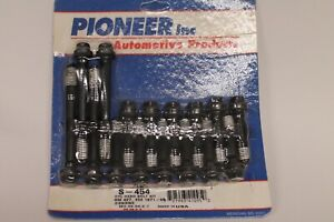 Pioneer S 454 Gm Chevy 427 454 Engine Cylinder Head Bolt Kit 1971 95