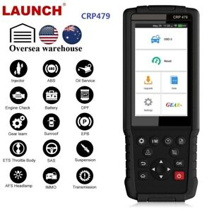 Launch Crp479 Obd2 Diagnostic Scan Tool All Systems Code Reader Immo Key Coding