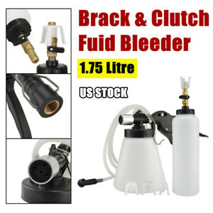 1 75l Pneumatic Brake Fluid Bleeder Air Extractor Clutch Oil Bleeding Kit Tools