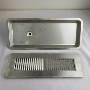 Commercial Industrial Unbranded Stainless Steel Fountain Drink Drain Grate