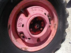 Allis Chalmers Wc Ac Tractor F h Rear Wheel Weights Weight