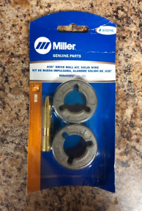 Miller 079595 Kit drive Roll 035 V groove 2 Roll System For Solid Wire