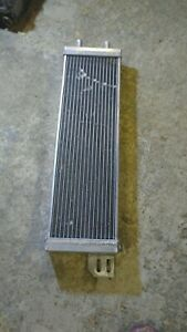 Nos Air To Water Intercooler Aluminum Liquid Heat Exchanger Universal