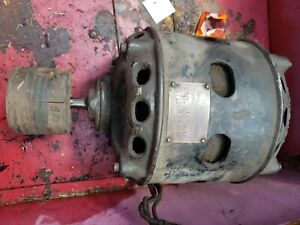 1899 Antique 1 2hp 1760rpm 1phase century Electric Cast Iron Motor 110 Rare