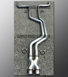 92 97 Ford Thunderbird Mandrel Dual Exhaust 2 5 Aluminized With Crossover