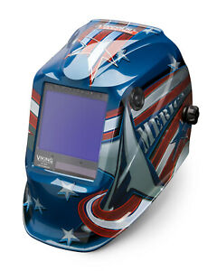 Lincoln Viking 3350 All American Welding Helmet K3175 4
