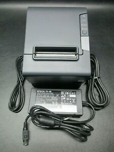 Epson Tm t88v M244a Usb Thermal Receipt Printer W Ps 180 Supply Cables