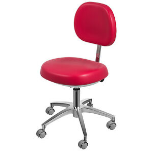 Dental Dentist s Chair Doctor s Stool Mobile Chair Microfiber Leather