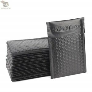 100 000 4x8 Black Poly Bubble Padded Envelopes Self sealing Shipping Mailers
