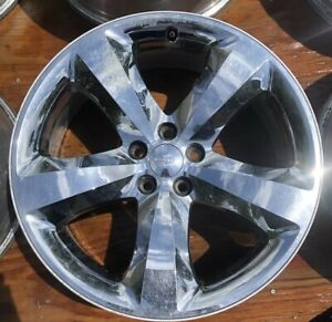 1 20 Inch Dodge Challenger Charger Factory Oem Stock Chrome Clad Wheel Rim
