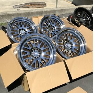 19x10 15 F 19x11 15 R Xxr 531 Wheels 5x114 3 120 Platinum Rims Set Of 4