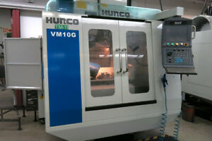 Used Hurco Vm10g Cnc Vertical Mill 2010 Graphite Package 30000 Rpm Super Clean