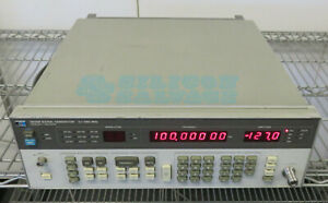 Hp Agilent 8656b Synthesized Signal Generator 0 1 990mhz Option 001