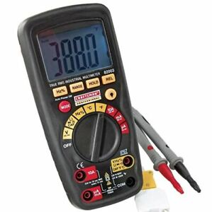 B new Craftsman 34 82003 Professional True Rms Industrial Multimeter Free Ship