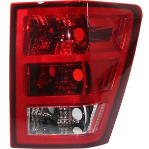Halogen Tail Light For 2005 2006 Jeep Grand Cherokee Right Without Bulbs
