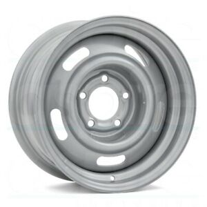 15x7 Vision 55 Rally 5x120 65 Et6 Silver Wheels Set Of 4