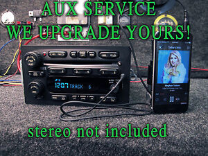03 04 05 Chevy Gm Gmc Truck Suv Stereo Radio 6 Cd Disc Player Mp3 Ipod Auxiliary