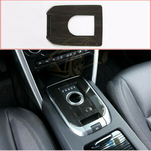 For Land Rover Discovery Sport Car Parts Wood Grain Gear Shift Panel Cover Trim