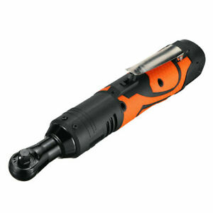 3 8 60nm Electric Cordless Right Ratchet Angle Wrench Tool 1pcs Battery 18v