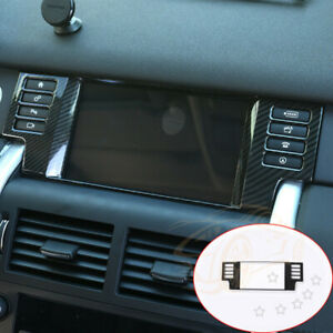For Land Rover Discovery Sport Car Parts Carbon Fiber Style Navigation Box Frame
