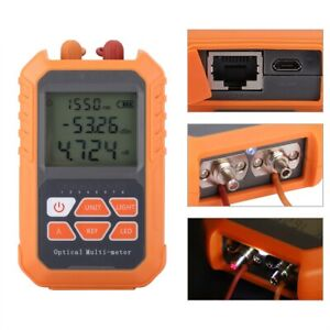 800 1700 Fiber Optical Cable Tester Mini Fiber Optic Power Meter Opm 5mw Locator