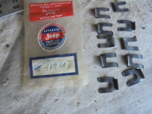 1946 63 Jeep Willys Nos Pickup Wagon Choke Cable Clip 112807