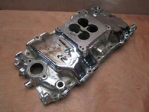 Offenhauser Dual Port Intake Manifold Big Block Chevy Rectangle Square Offy 360