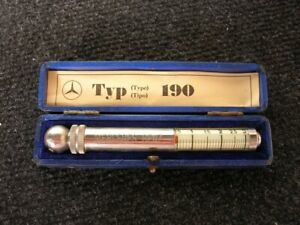 Original Mb 190 Tire Gauge Vintage Mercedes Tool Box Tyre Accessory Messko