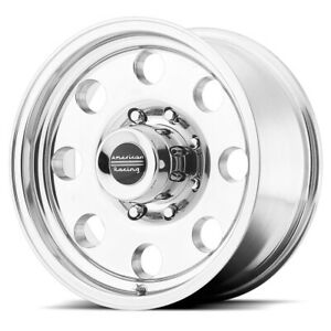 4 american Racing Ar172 Baja 16x8 8x6 5 0mm Polished Wheels Rims 16 Inch