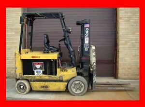 Yale 8000 Pound Capacity Forklift Model Ecr080