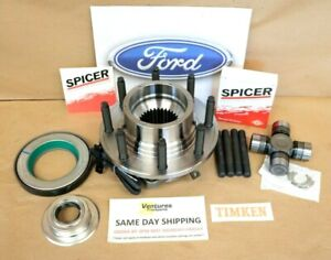 Timken Unit Hub Bearing And Spicer Seal Kit Ford F250 F350 11 16 Dana 60 Front