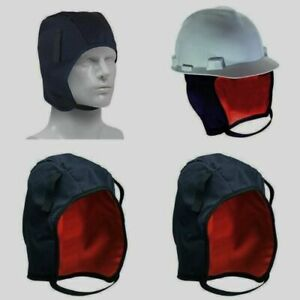 New Winter Hard Hat Safety Liner Quilted Cold Weather Cap Free Shipping Allsafe