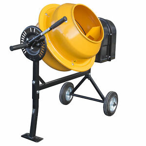 1 25 Cubic Foot Electric Cement Mixer