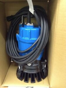 New Tsurumi Hs2 Submersible Heavy Duty Trash Sump Pumps Water Transfer Sewage