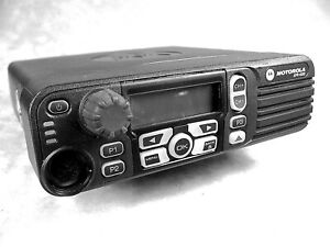 Motorola Xpr4550 Uhf Mototrbo 40w Digital Mobile Radio W new Accessories