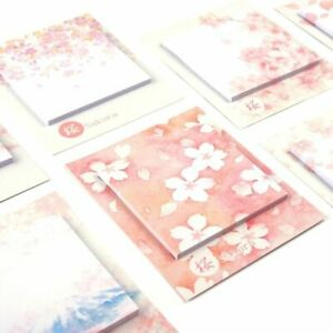 Water Color Stickers Planner Sticky Notes Stationery Planner 32pcs lot Memo Pad