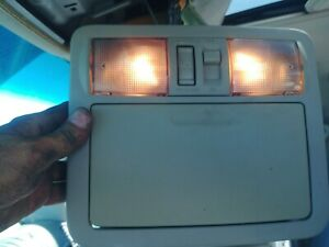 Oem 05 07 Nissan Pathfinder Overhead Console Domelight Sunroof Switch Nice
