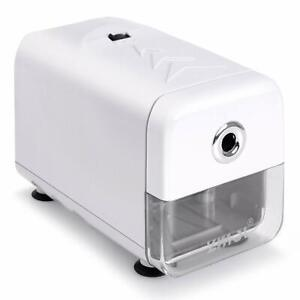 Electric Pencil Sharpener Heavy Duty Helical Blade And Auto stop